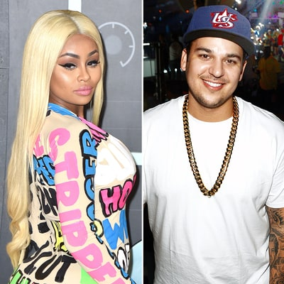 Blac Chyna Captions Rob Kardashian Pic With Diamond Ring Emoji Amid Engagement Rumors: See the Photo!
