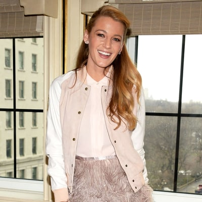 Blake Lively's Feathered Miniskirt Puts Her Toned Legs on Display: See the Photos!