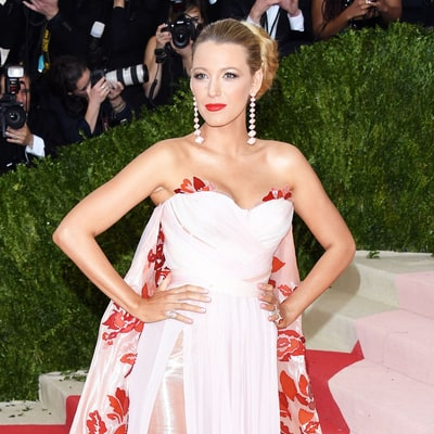 Pregnant Blake Lively Was 'Involved in the Design Process' of Her Met Gala 2016 Dress