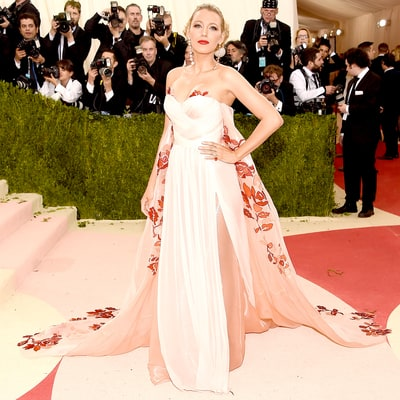 Pregnant Blake Lively Conceals Baby Bump With Caped Gown at Met Gala 2016: See the Photos