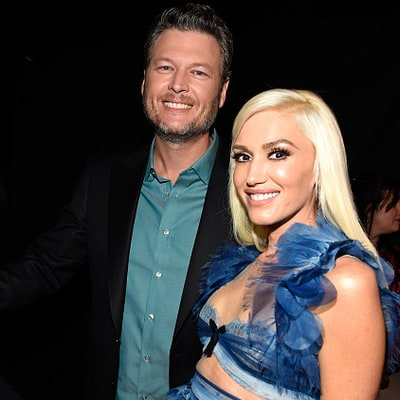 Blake Shelton Jokes With Gwen Stefani After Winning Two People's Choice Awards: 'Am I Your Favorite?'