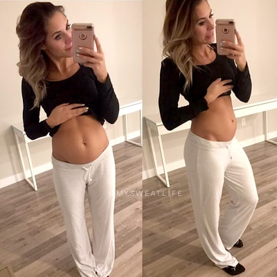 Instagram Fitness Star Kelsey Wells Shows That No One Is Immune to the Food Baby: 'I Definitely Do Get Bloated'