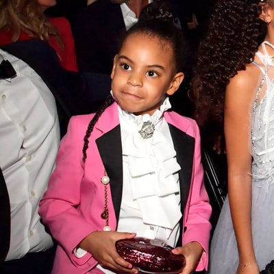 Everything You Want to Know About Blue Ivy's Pink Gucci Suit