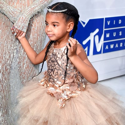 Blue Ivy Wore an $11,000 Dress to the MTV VMAs 2016