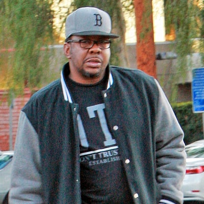 Bobby Brown Wears a Jacket Featuring Late Daughter Bobbi Kristina Brown: Photo