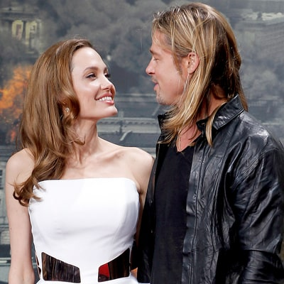 Brad Pitt and Angelina Jolie's Most Memorable PDA Moments