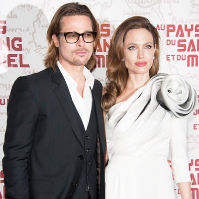 Brad Pitt, Angelina Jolie's Plane Incident Caught on Video