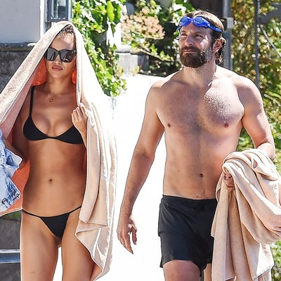 Irina Shayk Bares Butt on Vacation in Italy With Goggles-Clad (But Still Hot!) Bradley Cooper — See the Sexy Pics