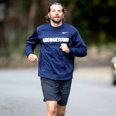 Bradley Cooper Steps Out for a Jog After Girlfriend Irina Shayk's Pregnancy Reveal