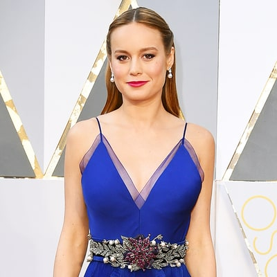Brie Larson Hugs Every Single Abuse Survivor After Lady Gaga's Oscars 2016 Performance: Video