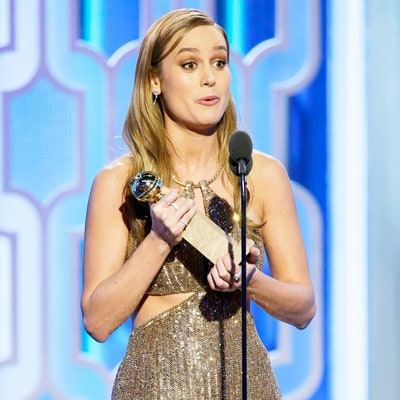 Brie Larson Wins the Golden Globe Award for Best Actress in a Motion Picture — Drama
