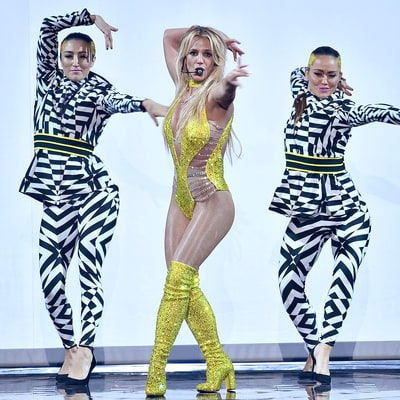 Britney Spears Makes an Epic Return to the MTV Video Music Awards Stage: Watch Her Sexy Performance!