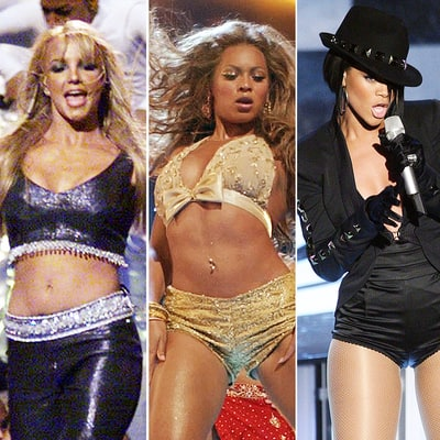 Flashback! Here Are Britney Spears, Beyoncé and Rihanna's First VMAs Performances