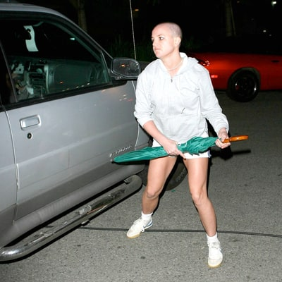 britney spearss meltdown why she shaved her head new see