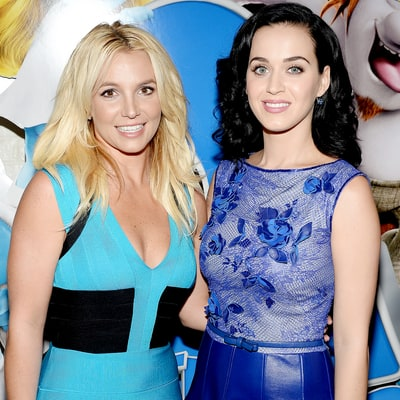 Katy Perry Slammed for Throwing Shade at Britney Spears With Grammys Head-Shaving Comment, #KatyPerryIsOverParty Trends