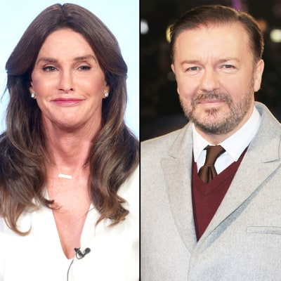 Caitlyn Jenner Responds to Ricky Gervais' Golden Globes Diss: 'We'll Solve That Problem'