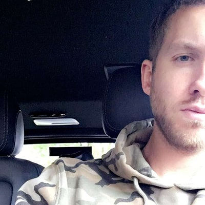 Calvin Harris Is Hotter Than Ever on Snapchat After Car Accident: Photos