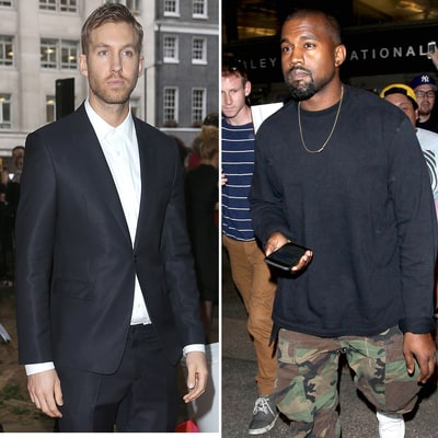 Calvin Harris Raps Along to Kanye West Song About Kim Kardashian Amid Kimye, Taylor Swift's 'Famous' Drama