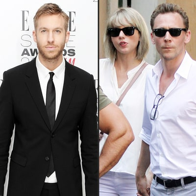 Calvin Harris Backs Car Into a Wall as Taylor Swift Jets to Rome With Tom Hiddleston