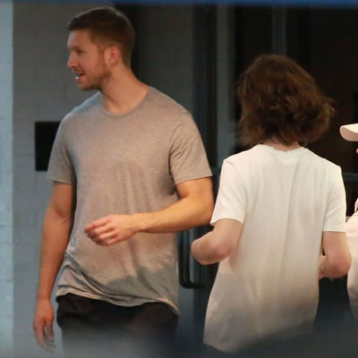 Calvin Harris Spotted Grabbing Dinner With Tinashe in L.A.