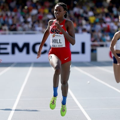 Candace Hill, 17, Sprints for Olympics Spot
