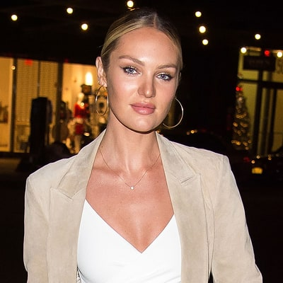 Candice Swanepoel Showcases Her 'Lady Lumps' in Near-Naked Baby Bump Pic