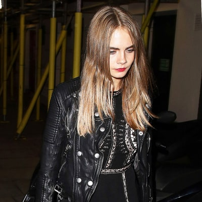 Cara Delevingne's Edgy-Romantic, Black Lace Outfit: Shop the Look for Less!