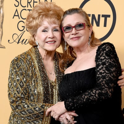 Watch Carrie Fisher's Heartfelt — and Hilarious — Tribute to Mom Debbie Reynolds at the 2015 SAG Awards