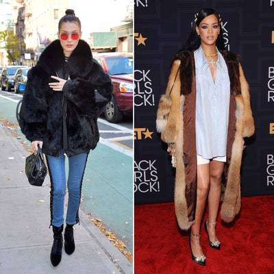 11 Faux Fur Coats to Keep Cozy in This Winter