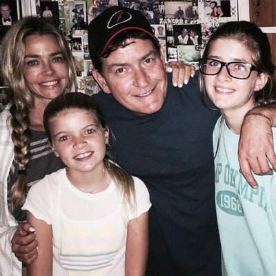 Charlie Sheen and Denise Richards' Daughters Are All Grown Up! See Their 'Awe Sum' Picture