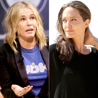 Jennifer Aniston's BFF Chelsea Handler Calls Angelina Jolie a 'F--king Lunatic' After Brad Pitt Split