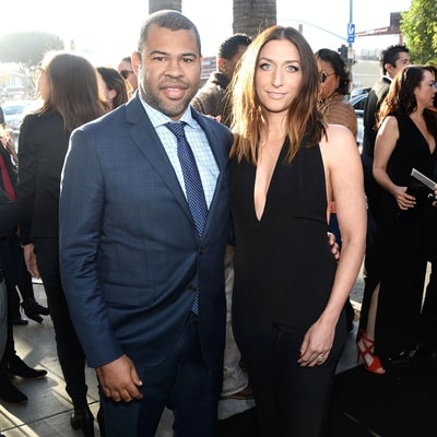 Chelsea Peretti, Jordan Peele Make Married Red Carpet Debut After Eloping