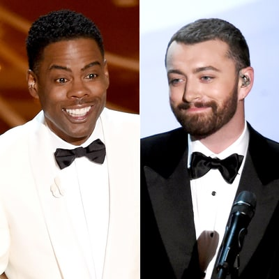 Oscars 2016: Chris Rock Compares Sam Smith to George Michael After Performance