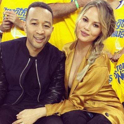 Chrissy Teigen Takes Baby Luna to Her First NBA Game: See the Pic
