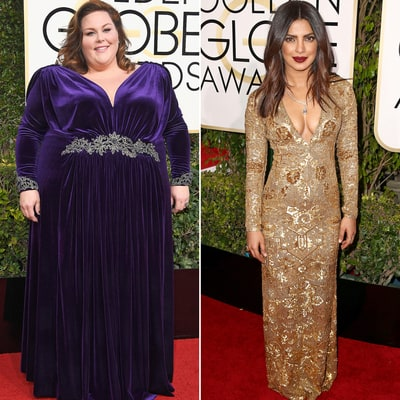 Golden Globes 2017 Red Carpet: Chrissy Metz, Priyanka Chopra, More Stars Tell 'Us' What Shows They're Binge-Watching