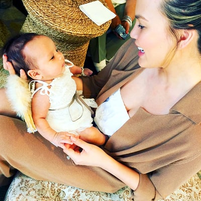 Chrissy Teigen's Daughter Luna Is Perfection in Angel's Wings: Photo