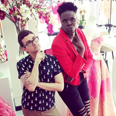 Christian Siriano and Leslie Jones Are Hard at Work on Her 'Ghostbusters' Premiere Dress