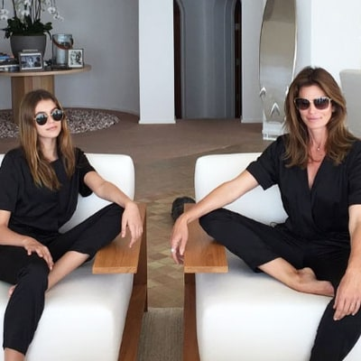 7 Times Cindy Crawford and Daughter Kaia Couldn't Stop Twinning