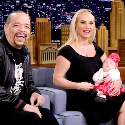 Coco and Ice T's Baby Daughter Tries Solid Food for the First Time in Cute Video