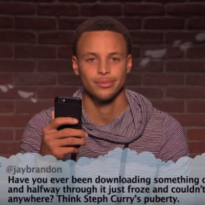 Steph Curry, Magic Johnson, Shaq Read Hilarious NBA Mean Tweets: Watch!