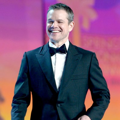 Matt Damon Wins the Golden Globe Award for Best Actor in a Motion Picture — Musical or Comedy for 'The Martian'