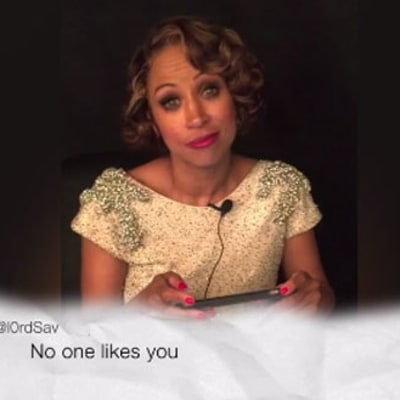 Stacey Dash Reads Oscars 2016 Mean Tweets: 'No One Likes You'