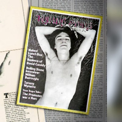Why David Cassidy Bared All for Annie Leibovitz's Cover Photo Shoot