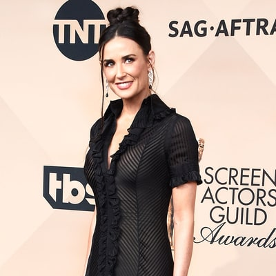 Demi Moore Shopped Her Own Closet for the SAG Awards 2016