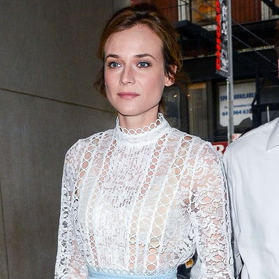 Shop Diane Kruger's Lacy Spring Look for Less