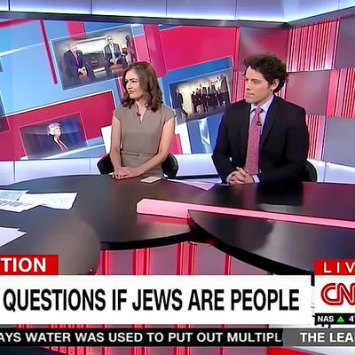 CNN's 'If Jews Are People' Headline Disgusts Many, Including Network Correspondent Jake Tapper