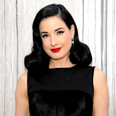 Dita Von Teese on Her First Red Lipstick — and Kylie Jenner's Green Hair