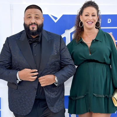 DJ Khaled Welcomes First Child — a Boy — With Fiancee Nicole Tuck, and He Snapchats His Son's Birth