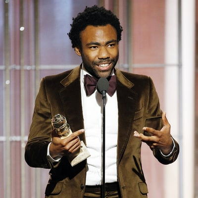Donald Glover Thanks His Son in Golden Globes 2017 Speech