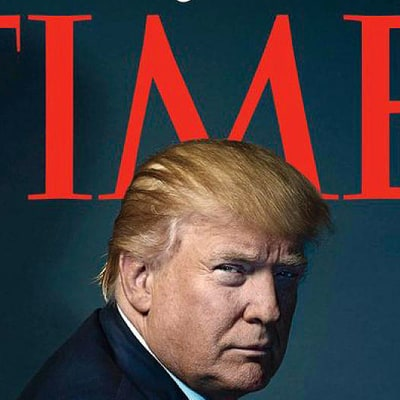 People Think That 'Time' Magazine Gave Donald Trump Horns on His 2016 Person of the Year Cover: Reactions!